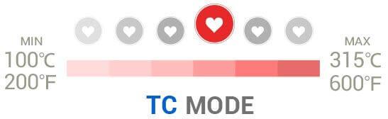 Mode CT de la box iStick 40 W TC