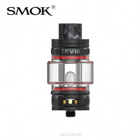 Clearomiseur TFV18 Smok Black