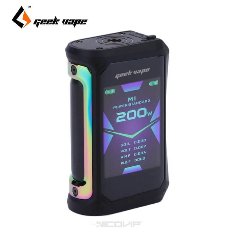Box Aegis X 200W Geek Vape Rainbow
