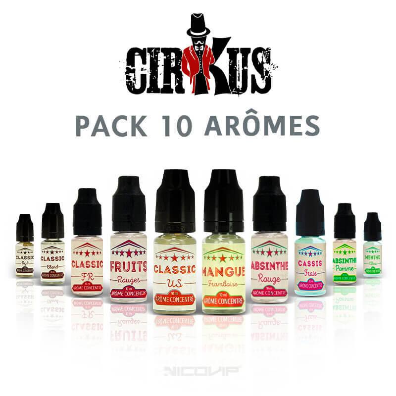 Pack arômes Cirkus 10 ml