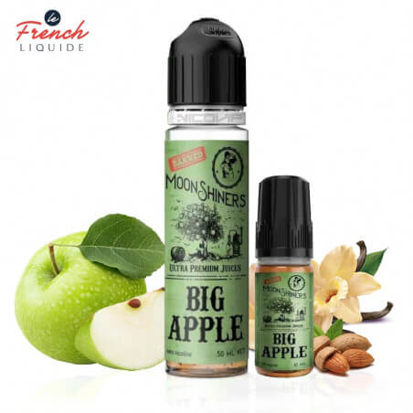 Big Apple 60ml Easy2Shake Le French Liquide 50 ml 1 booster