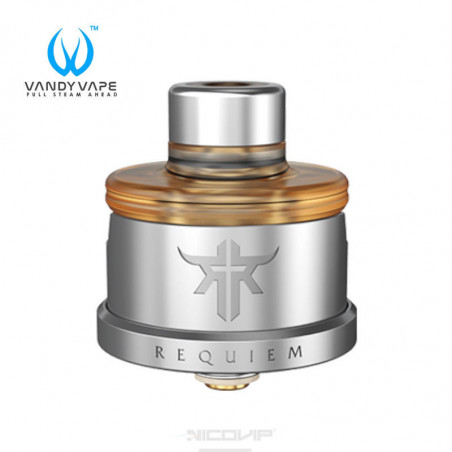Dripper Requiem RDA 22 mm Vandy Vape SS