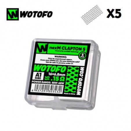 Pack 5 NexMesh Clapton S Wotofo