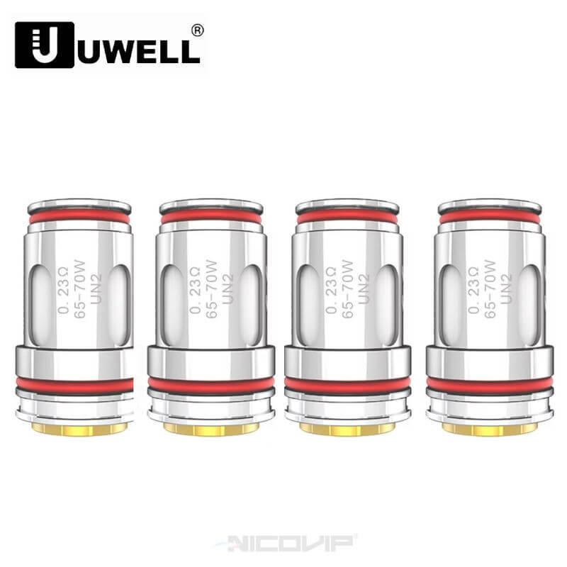Pack 4 résistances Crown 5 Uwell 0.23 ohm