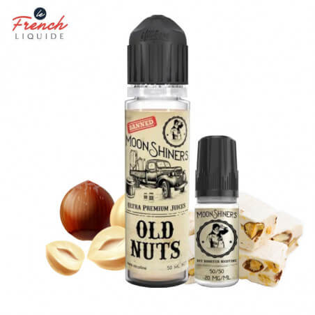 Old Nuts Moon Shiners Easy2Shake Le French Liquide 50ml 3mg