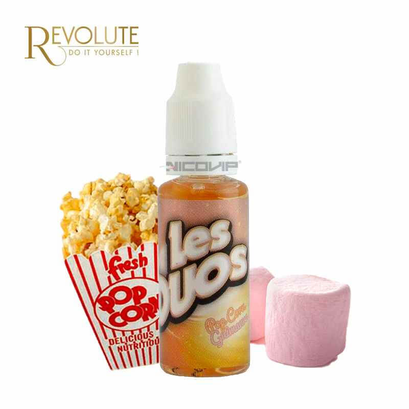 Duo Pop-Corn Guimauve Revolute 10ml