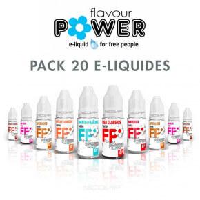 Pack 20 e liquides Flavour Power