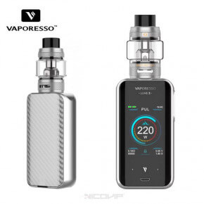 Kit Luxe II Vaporesso Silver
