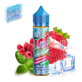 Fraise Framboise Basilic Ice Cool Liquidarom 50ml