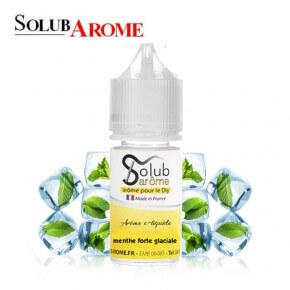Arôme Menthe Forte Glaciale Solubarome 30ml