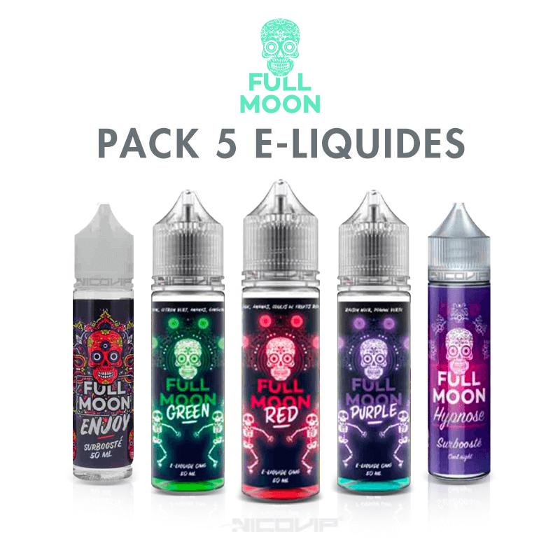 Pack e-liquides Full Moon 50 ml