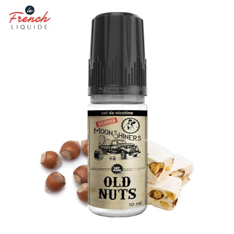 Old Nuts Sel de Nicotine Le French Liquide 10ml
