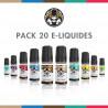 Pack 20 E-liquides Salt E-Vapor