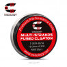 Pack 10 Coils Multi-Strands Fused Clapton Coilology