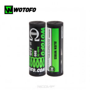 Pack 10 coils Ni80 Alien Coil Wotofo