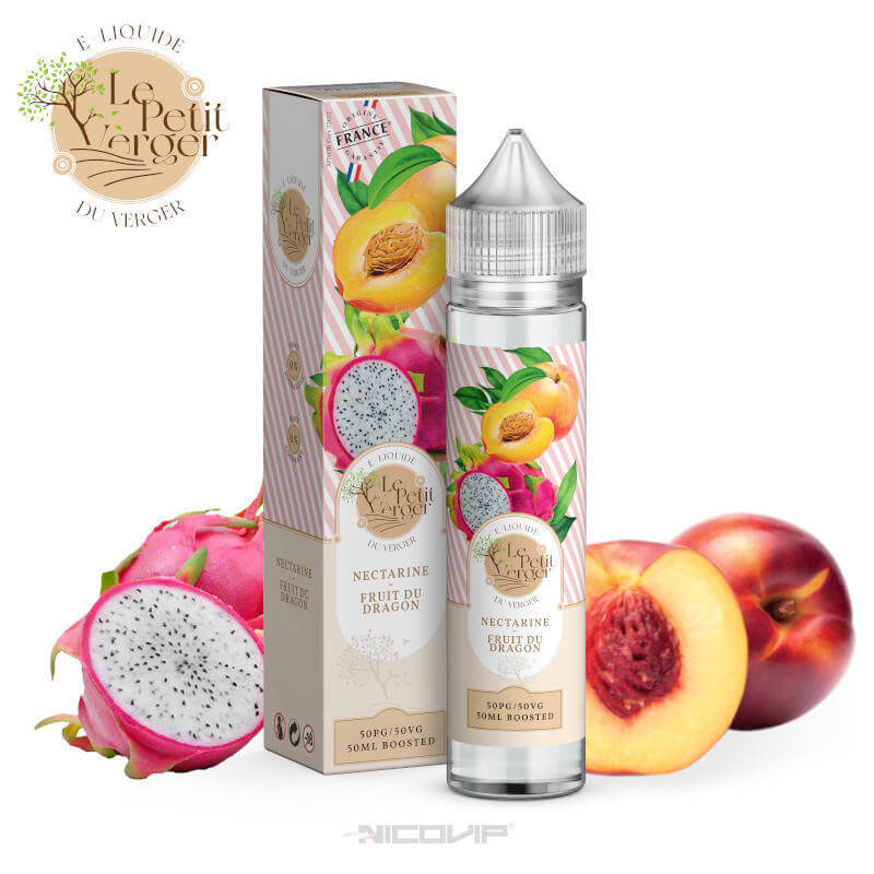 Nectarine Fruit du Dragon Le Petit Verger 50ml