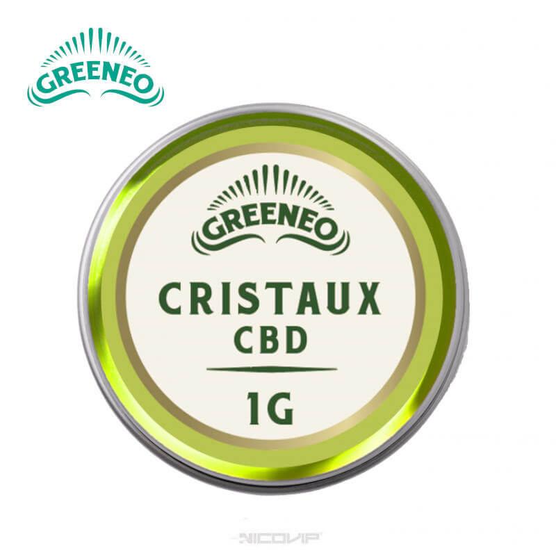 Cristaux CBD Greeneo 1g