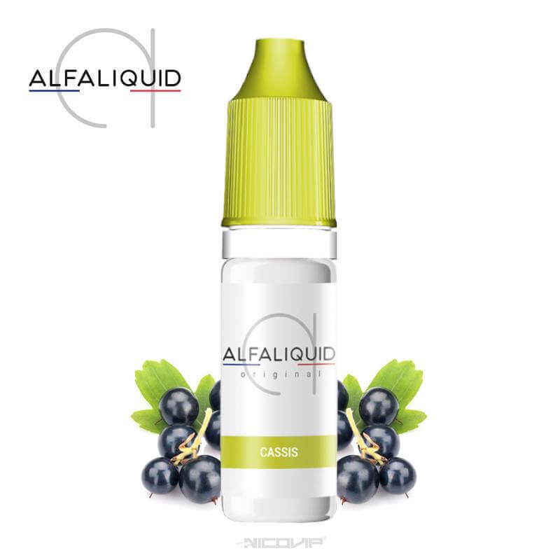 E-liquide Cassis Alfaliquid 10ml