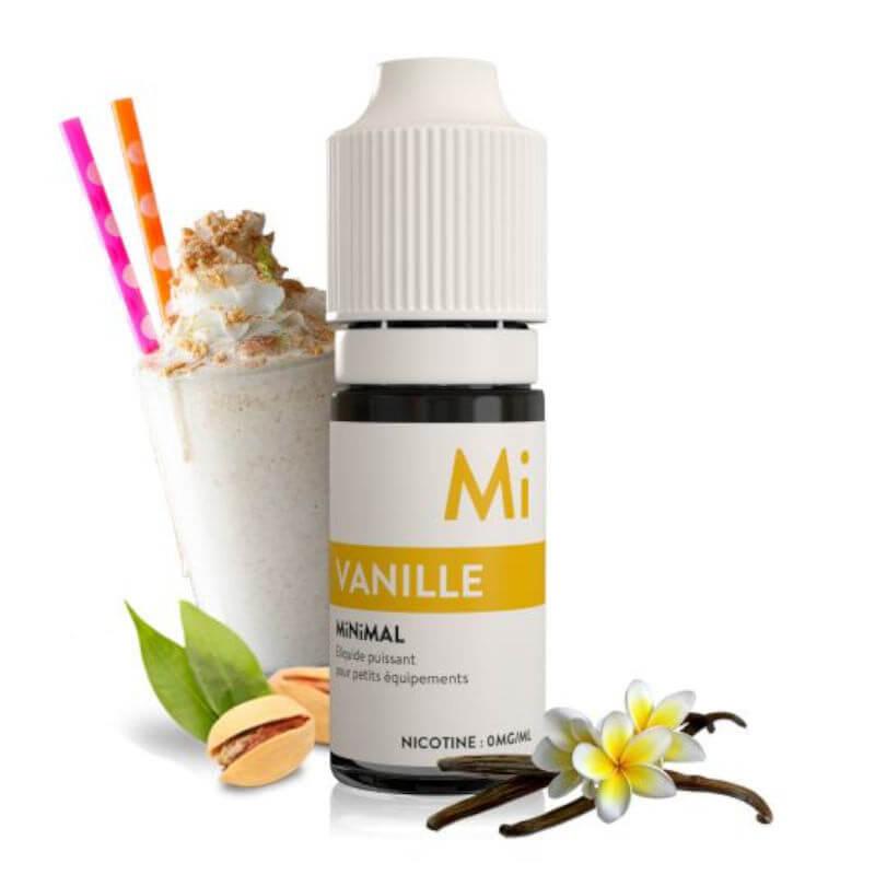 E-liquide Vanille Minimal 10ml