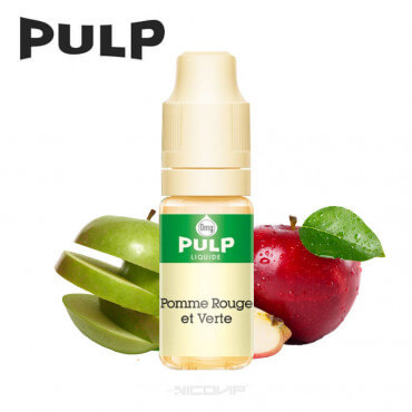 Pomme Rouge et Verte Pulp 10ml