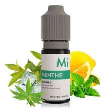 E-liquide Menthe Minimal 10ml