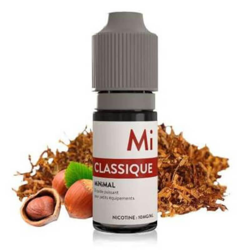 E-liquide Classique Minimal 10ml