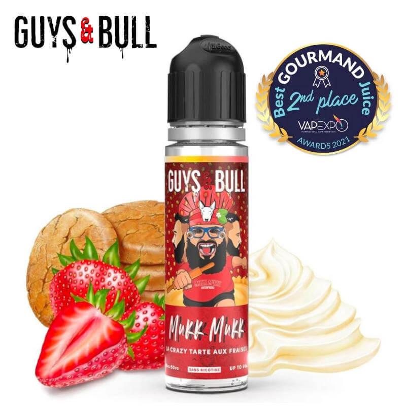 La crazy tarte aux fraises Guys & Bull 50ml