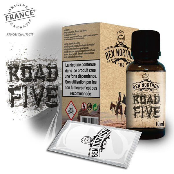 E Liquide Road Five 10 ml