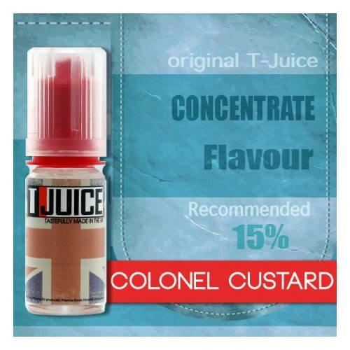 Arôme Colonel Custard - T-Juice 30 ml