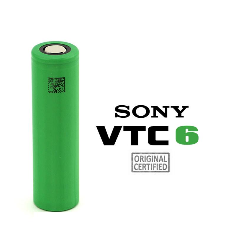 Accu 30A 18650 3000mAh VTC6 Sony