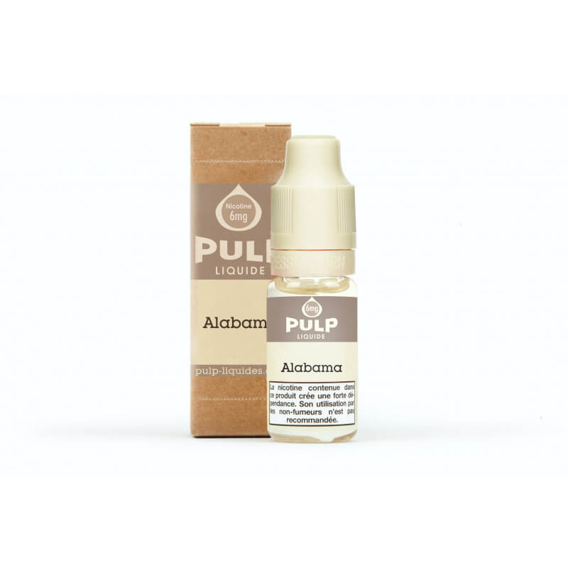 E-liquide Pulp TABAC ALABAMA 10 ml