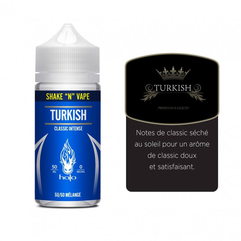 E-liquide Turkish Shake n Vape 50 ML