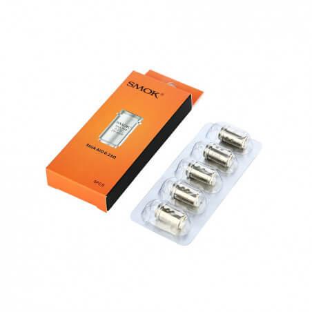 5 Résistances Stick AIO 0,23 ohms Smoktech