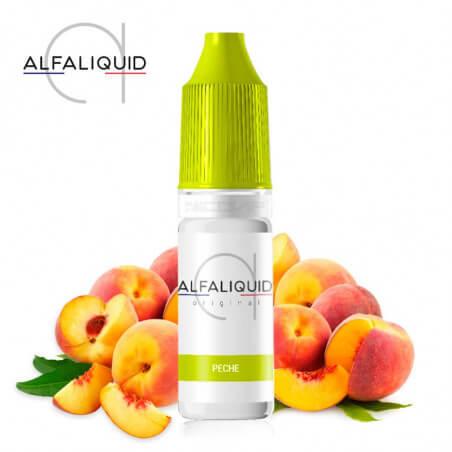 E-liquide Pêche Alfaliquid