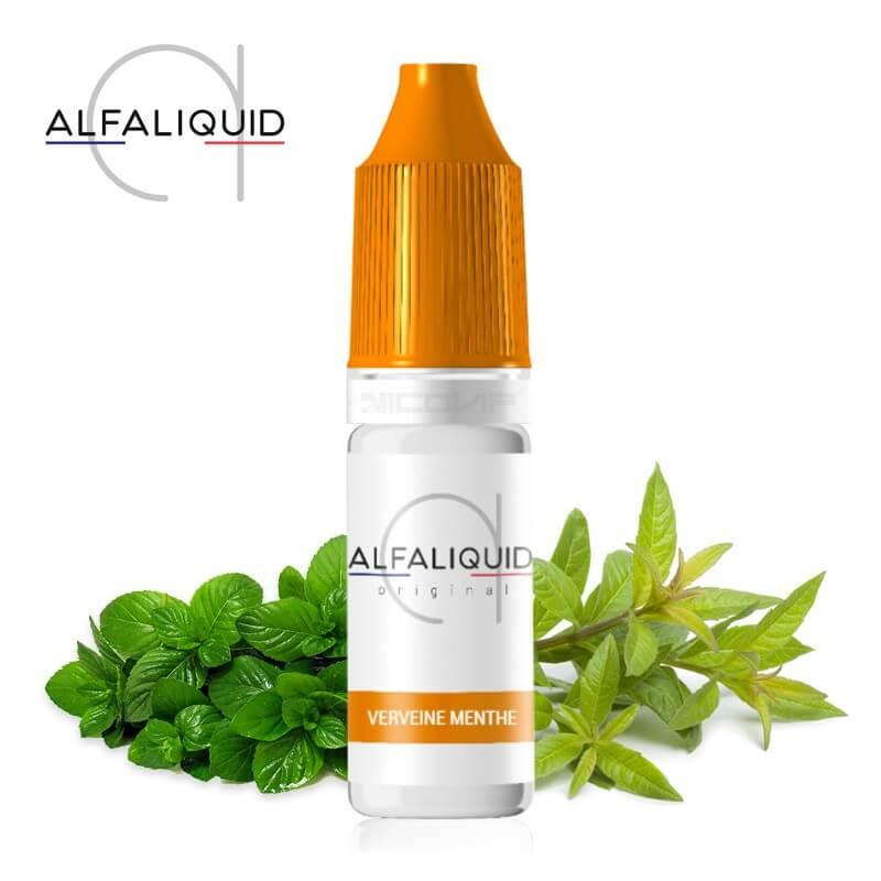 E-liquide Alfaliquid Verveine Menthe