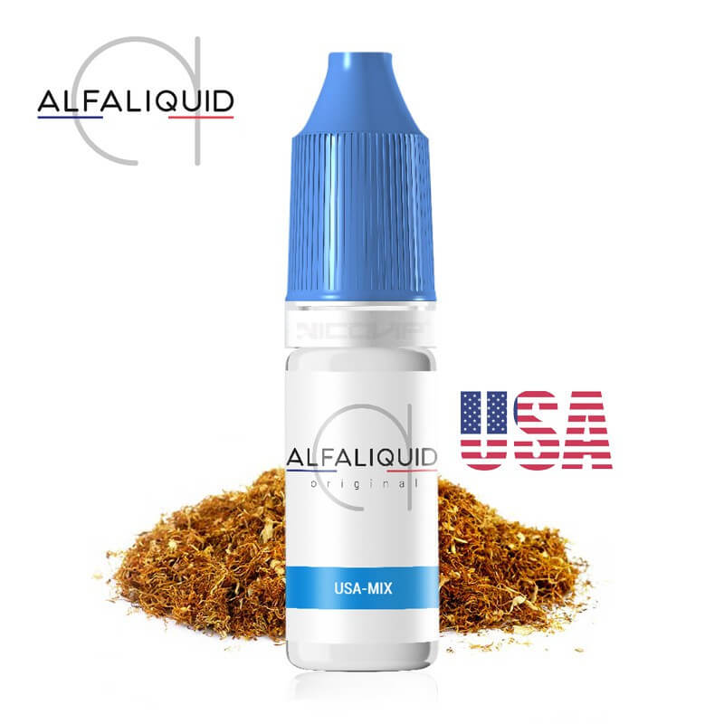 E-liquide Alfaliquid Tabac USA-MIX