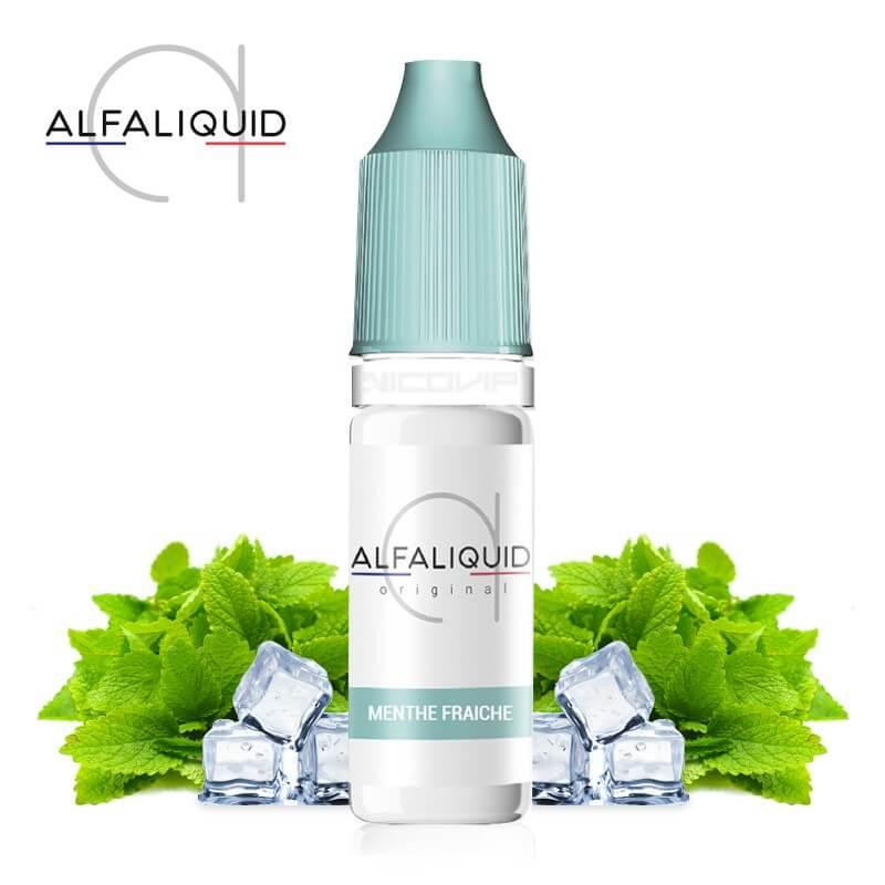 E-liquide Alfaliquid Menthe Fraiche