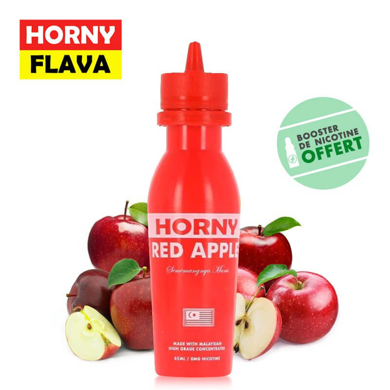 Horny Red Apple 65 ml Horny Flava
