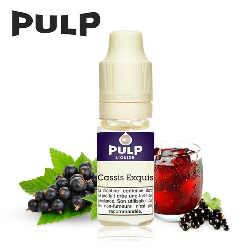 E-Liquide Pulp Cassis Exquis