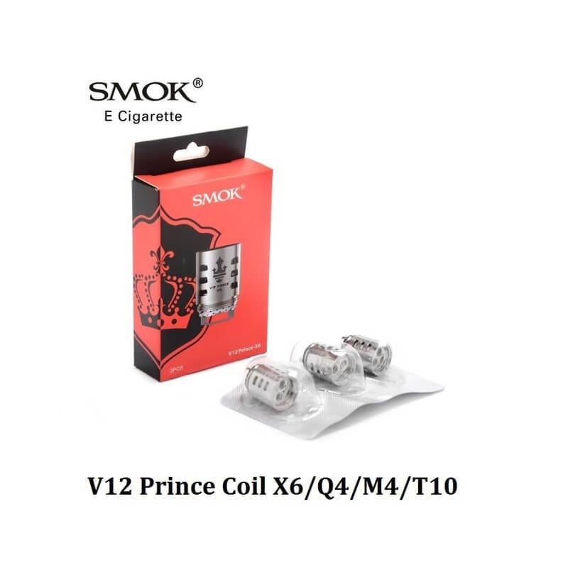 Résistances V12 Prince Smok