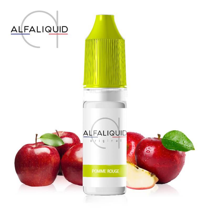E-liquide Pomme Rouge Alfaliquid
