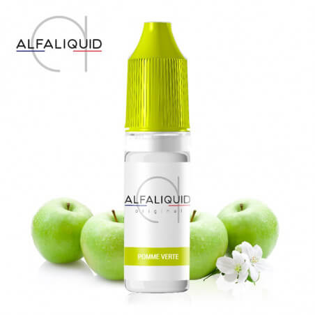 E-liquide Pomme Verte Alfaliquid
