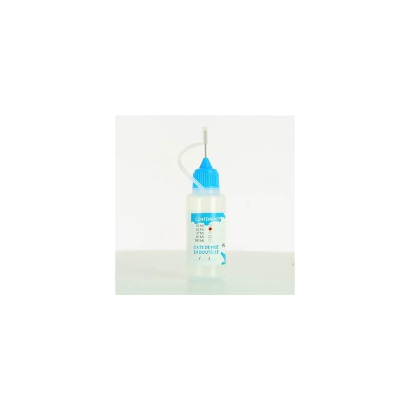 Flacon aiguille e-liquide 20 ml