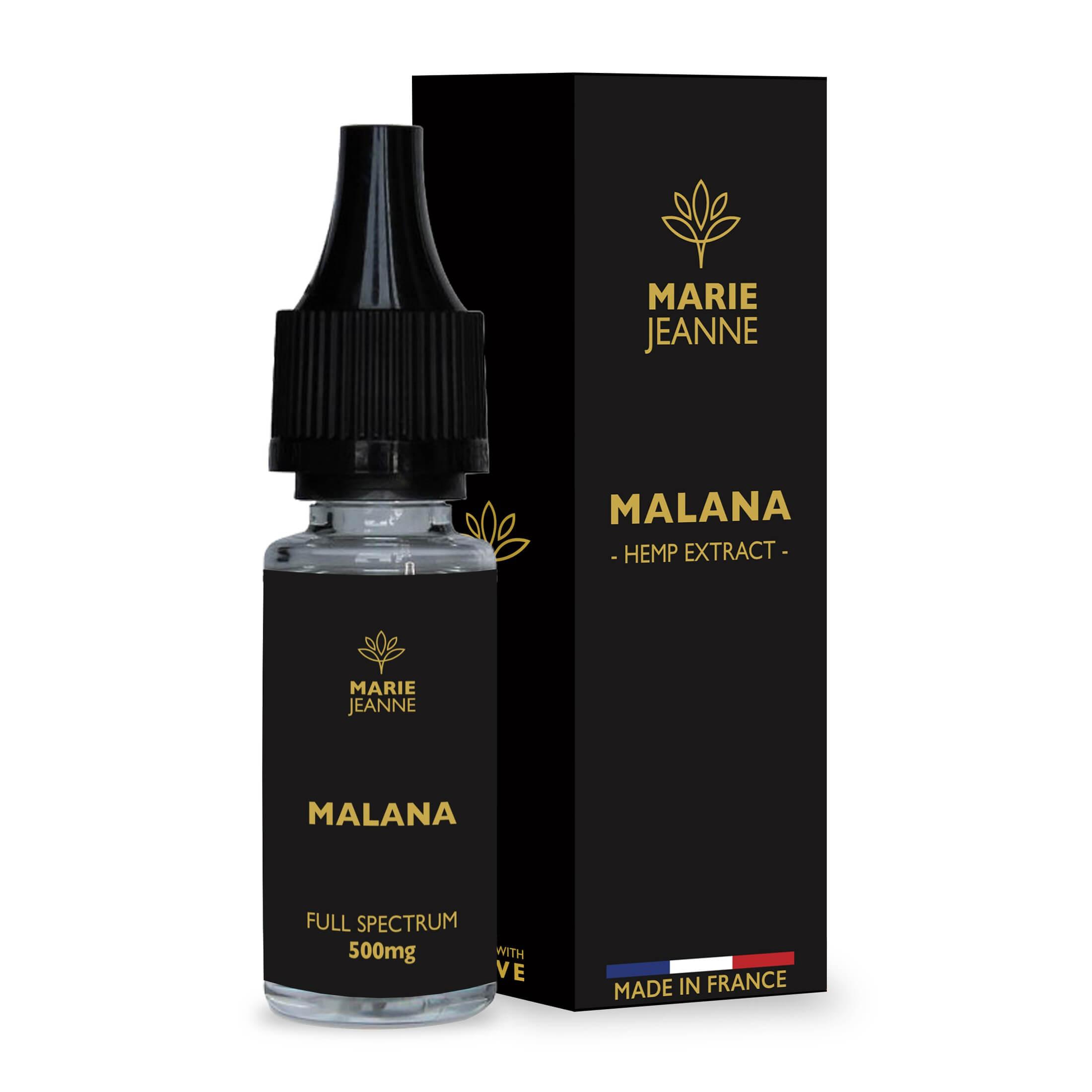 Malana Full Spectrum CBD Marie Jeanne