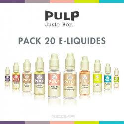 Pack 20 E-liquides Pulp