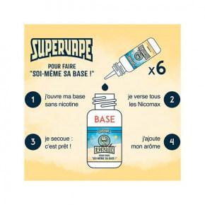 Pack Basebooster 20/80 SuperVape 200 ml