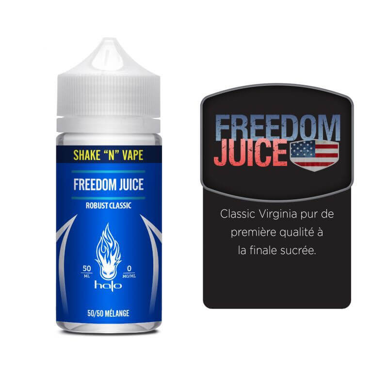 Freedom Juice Halo Shake n Vape 50 ml