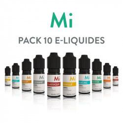 Pack 10 E-liquides Minimal