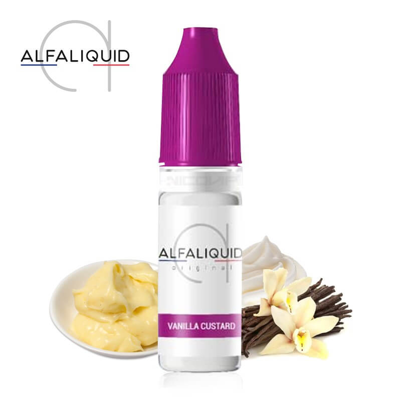 Vanilla Custard Alfaliquid