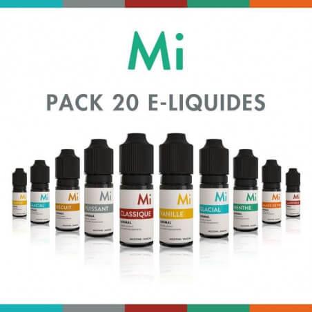 Pack 20 E-liquides Minimal